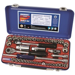 "Socket Set 43 Piece 1/4"" & 3/8"" Drive"