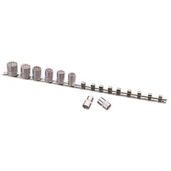 "Socket Rail  1/2"" Drive - Imperial"