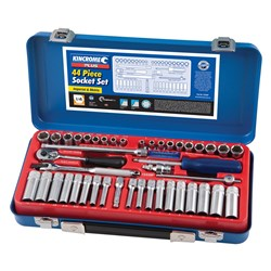 "Socket Set 44 Piece 1/4"" Drive"