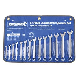 Combination Spanner Set 14 Piece