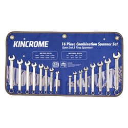 Combination Spanner Set 16 Piece