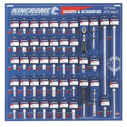 Tools Only - Merchandiser Sockets & Accessories  45 Piece
