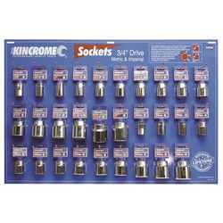 Tools Only - Merchandiser Sockets 29 Piece