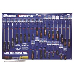 Screwdriver Merchandiser 58 Piece