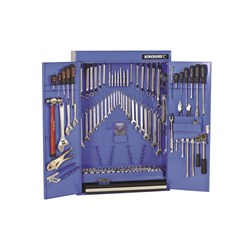 "Tools Only - Tool Cabinet 204 Piece 1/4, 3/8 & 1/2"" Drive"