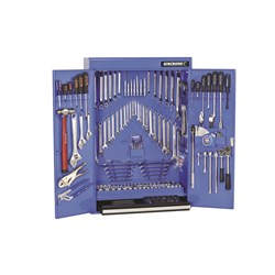 "Tools Only - Tool Cabinet 227 Piece 1/4, 3/8 & 1/2"" Drive"
