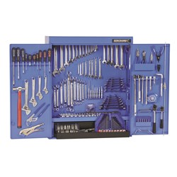 "Tools Only - Tool Cabinet 295 Piece 1/4, 3/8 & 1/2"" Drive"