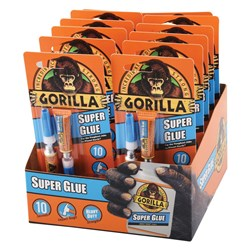 Gorilla® Super Glue 2x3g 12 Piece