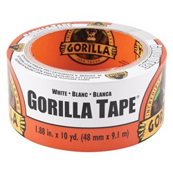 White Gorilla® Tape 9.14m x 48mm