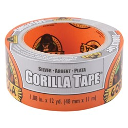 Silver Gorilla® Tape 11m x 48mm