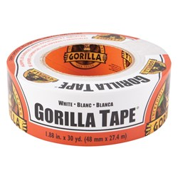 White Gorilla® Tape® 27m x 48mm