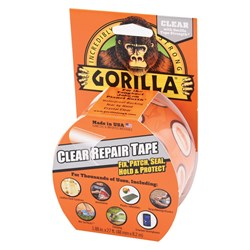 Gorilla® Clear Repair Tape 8m x 48mm