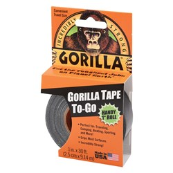 Black Gorilla® Tape Handy Roll 9m x 25.4mm
