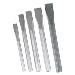 Cold Chisel Set Hexagonal 5 Piece