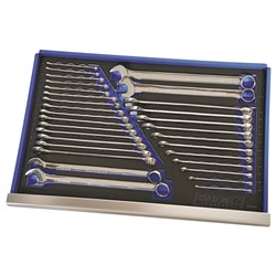 EVA Tray Combination Spanners 30 Piece