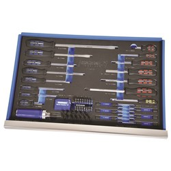 EVA Tray Screwdrivers & Fastening 69 Piece