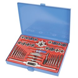 Tap & Die Set 40 Piece Metric