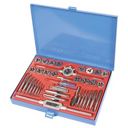 Tap & Die Set 40 Piece Imperial