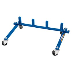 Vehicle Positioning Jack Stand with Castors