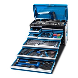 "EVOLUTION Tool Chest 172 Piece 9 Drawer 1/4, 3/8 & 1/2"" Drive"