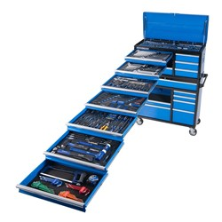 "EVOLUTION Tool Workshop 367 Piece 18 Drawer Deep 1/4, 3/8 & 1/2"" Drive"