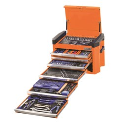 "CONTOUR® Tool Chest 328 Piece 1/4, 3/8 & 1/2"" Square Drive"