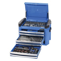 "CONTOUR® Tool Chest Kit 207 Piece 1/4, 3/8 & 1/2"" Drive"