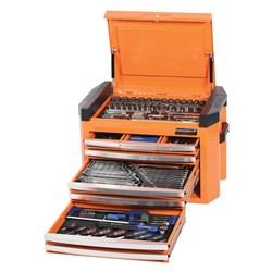 "CONTOUR® Tool Chest 207 Piece 1/4, 3/8 & 1/2"" Square Drive"