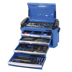 "CONTOUR® Slimline Tool Chest 217 Piece 1/4"", 3/8"" & 1/2"" Square Drive"