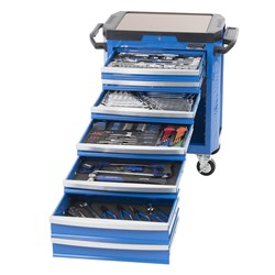 "CONTOUR® Tool Trolley 242 Piece 1/4, 3/8 & 1/2"" Drive"