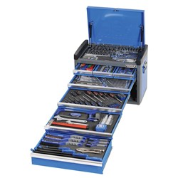 "EVOLVE® Tool Chest 259 Piece 1/4, 3/8 & 1/2"" Square Drive"