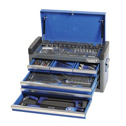 "EVOLVE® Tool Chest 135 Piece 1/4 & 1/2"" Square Drive"