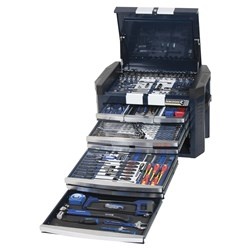 "Tools Only - GT CONTOUR® Tool Chest 254 Piece 1/4, 3/8 & 1/2"" Drive"