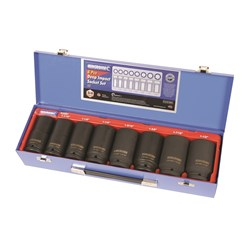 "Deep Impact Socket Set 8 Piece 3/4"" Drive - Imperial"