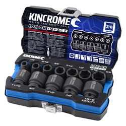 "LOK-ON™ Impact Socket Set 12 Piece 3/8"" Drive - Imperial"