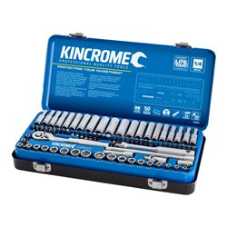 "Socket Set 82 Piece 1/4"" Drive - Metric & Imperial"