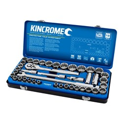 "Socket Set 42 Piece 1/2"" Drive - Metric & Imperial"