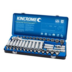 "Socket Set 45 Piece 1/2"" Drive - Metric & Imperial"