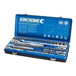 "Socket Set 74 Piece 1/4, 3/8 & 1/2"" Drive - Metric & Imperial"