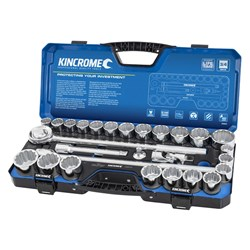 "Socket Set 28 Piece 3/4"" Drive Metric & Imperial"