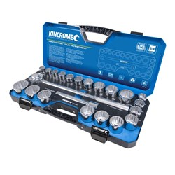 "Socket Set 22 Piece 3/4"" Drive - Metric & Imperial"