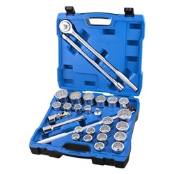 "Socket Set 28 Piece 3/4"" Drive - Metric & Imperial"