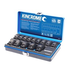 "Impact Socket Set 14 Piece 1/2"" Drive - Imperial"