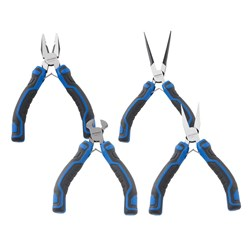 Mini Plier Set - 4 Piece