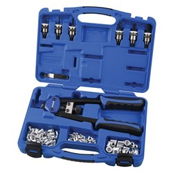 Nut Riveter Kit Twin Handle 68 Piece