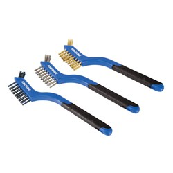 Wire Brush Set Small  3 Piece