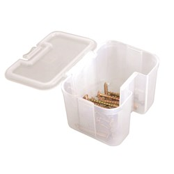 Storage Tub Stackable Clear