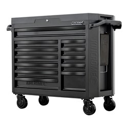 CONTOUR® Wide Tool Trolley 12 Drawer Black Series