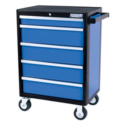 EVOLVE® Tool Trolley 5 Drawer Electric Blue™