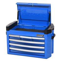 CONTOUR® Tool Chest 6 Drawer Slimline Electric Blue™
